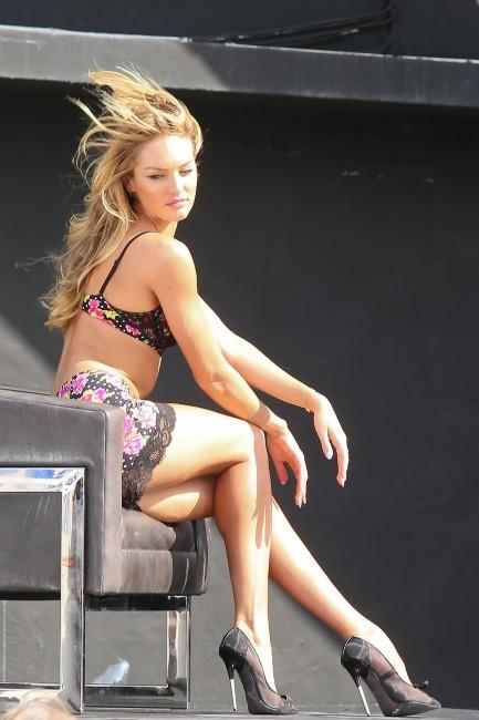 Candice Swanepoel, Miami, 9 février 2013