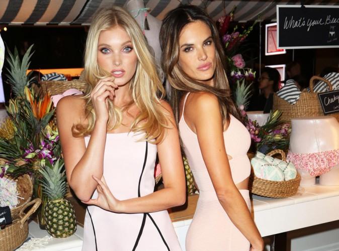 Alessandra Ambrosio et Elsa Hosk : duo de bombes pour la promotion des nouveaux maillots Victoria's Secret !