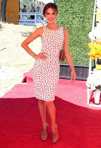 Alessandra Ambrosio à Los Angeles le 5 octobre 2013
