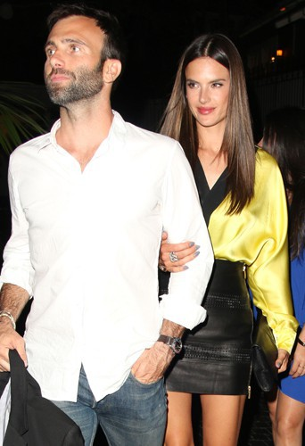 Jamie Mazur et Alessandra Ambrosio à Los Angeles le 1er mai 2014