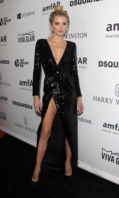 Lily Donaldson à Los Angeles, le 29 octobre 2015 !