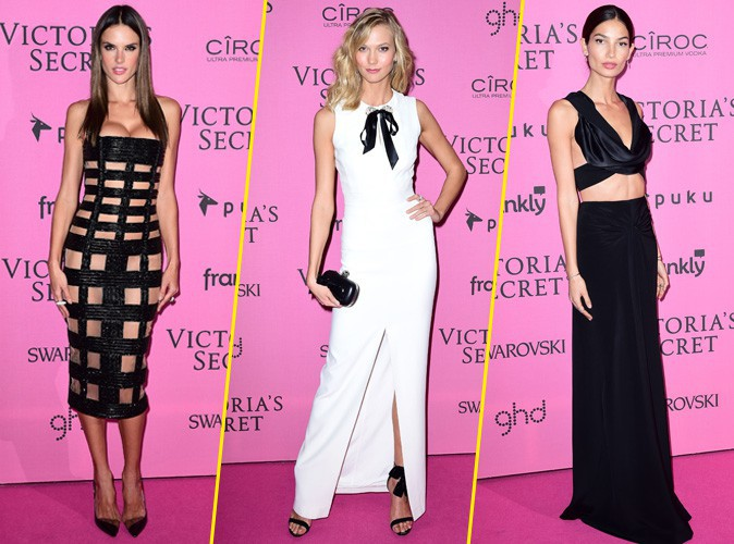 Alessandra, Karlie, Lily… Les Anges de Victoria's Secret continuent le show pour l'after-party !