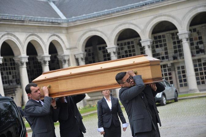 Photos : le monde de la télé dit au revoir à Emmanuel Maubert