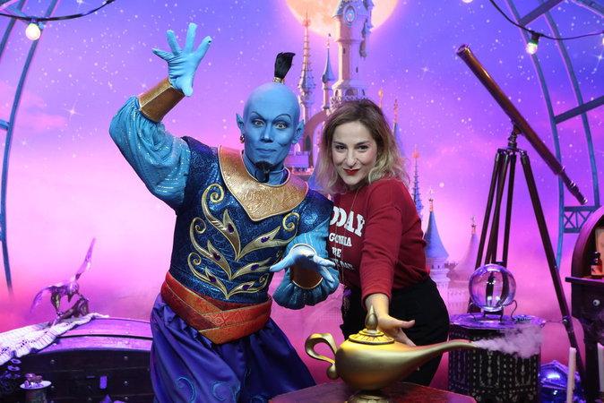 Marilou Berry lors du lancement du nouveau spectacle de Disneyland Paris, le 2 juillet 2016.