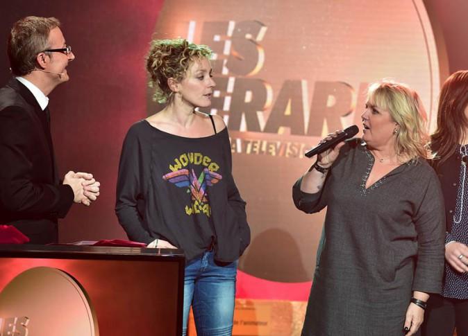 Alessandra Sublet à la cérémonie des Gérard le 19 janvier 2015