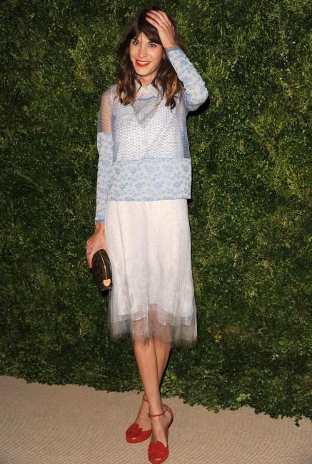 Alexa Chung le 13 novembre 2012 à New York