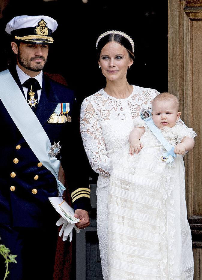 Photos : Alexander de Suède : découvrez le baptême de l'adorable royal baby du nord !