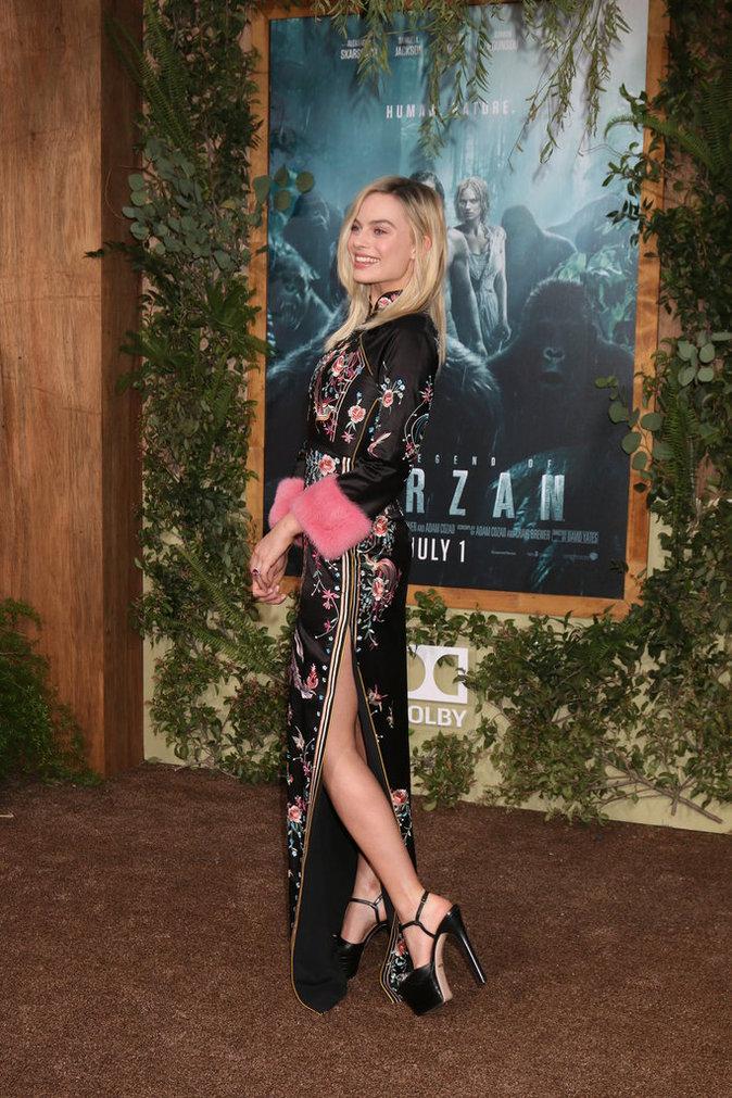 "Margot Robbie à l'Avant-Première du film ""The Legend of Tarzan"" !"
