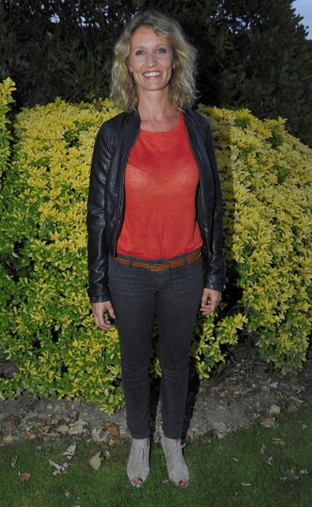 Alexandra Lamy le 27 août 2012 à Angoulême