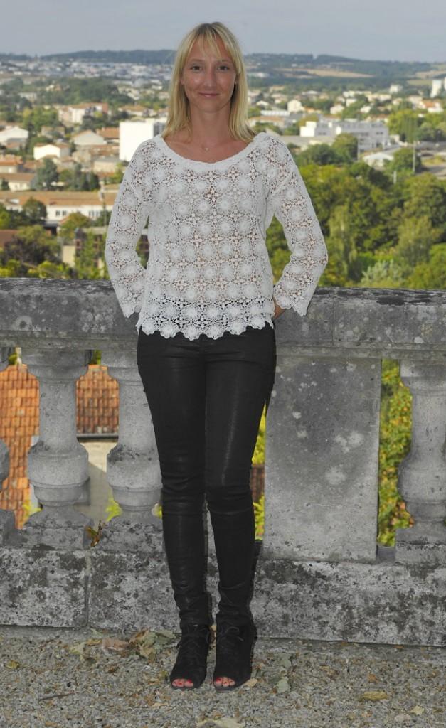 Audrey Lamy le 27 août 2012 à Angoulême