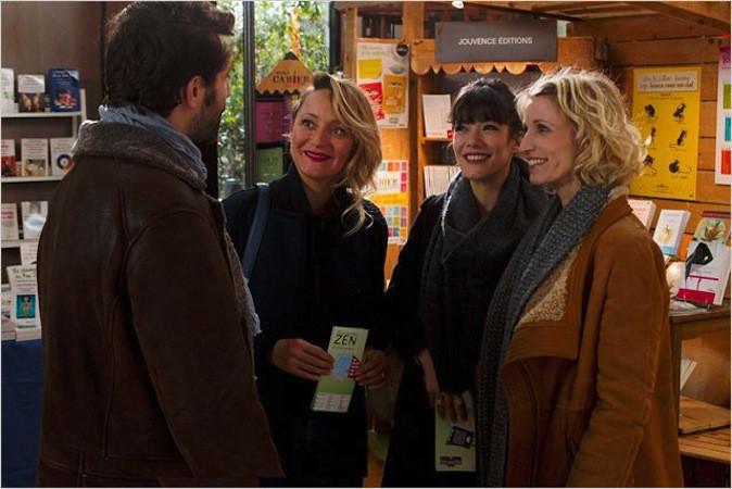 """Alexandra Lamy, Mélanie Doutey et Laurie Ferrier dans """"Jamais le premier soir"""" actuellement au cinéma !"""