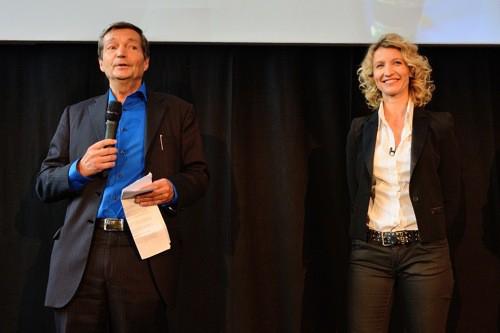 Christian Brechot et Alexandra Lamy