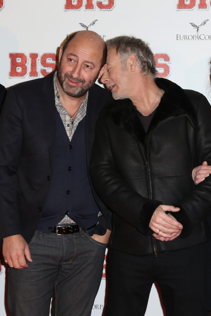 Photos : Alexandra Lamy : pétillante face à Kad Merad et Franck Dubosc (très) tactiles !