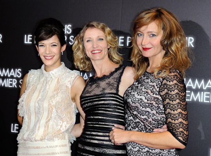 Mélanie Doutey, Alexandra Lamy et Julie Ferrier à Paris le 19 décembre 2013