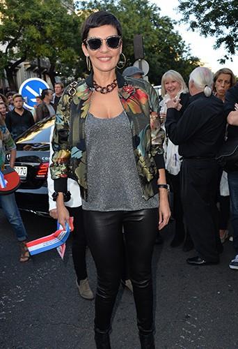 Cristina Cordula à Paris le 27 septembre 2014