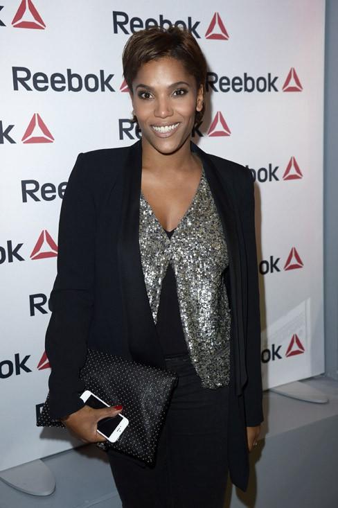 Audrey Chauveau à la soirée Reebok organisée à Paris le 4 décembre 2013