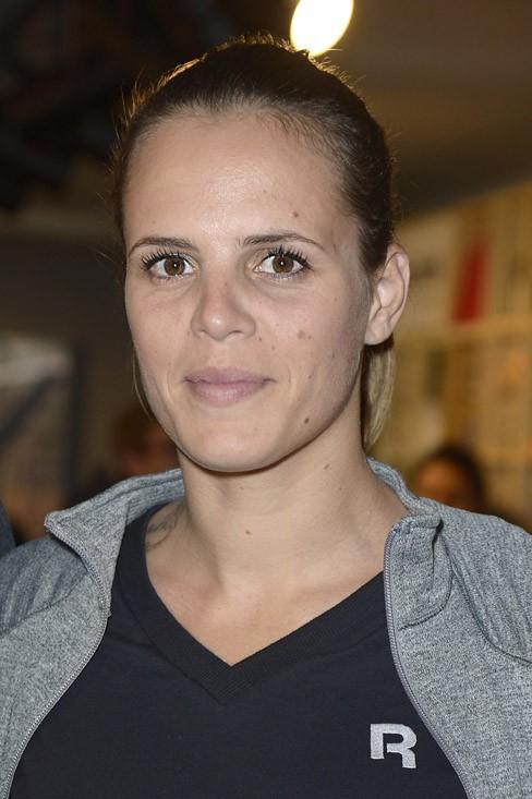 Laure Manaudou à la soirée Reebok organisée à Paris le 4 décembre 2013