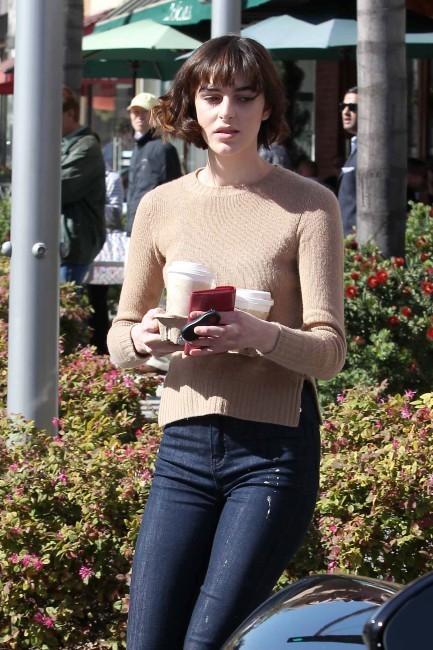 Ali Lohan à Beverly Hills, le 8 mars 2012.