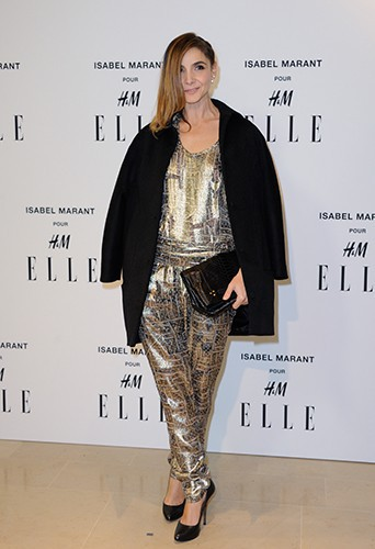 Clotilde Courau à Paris le 13 novembre 2013