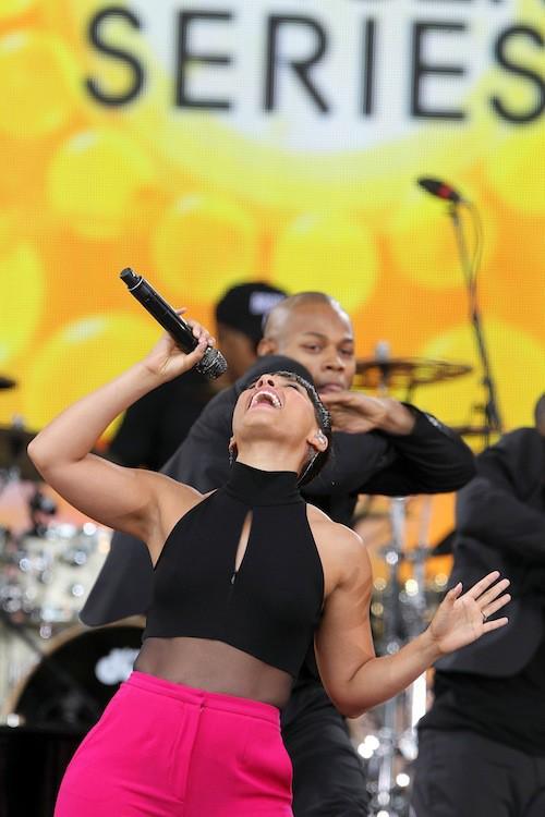Photos : Alicia Keys : à croquer pour enflammer la grosse pomme !