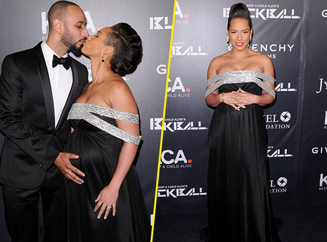 Alicia Keys et Swizz Beatz : un couple engag� qui vend du r�ve sur red carpet !
