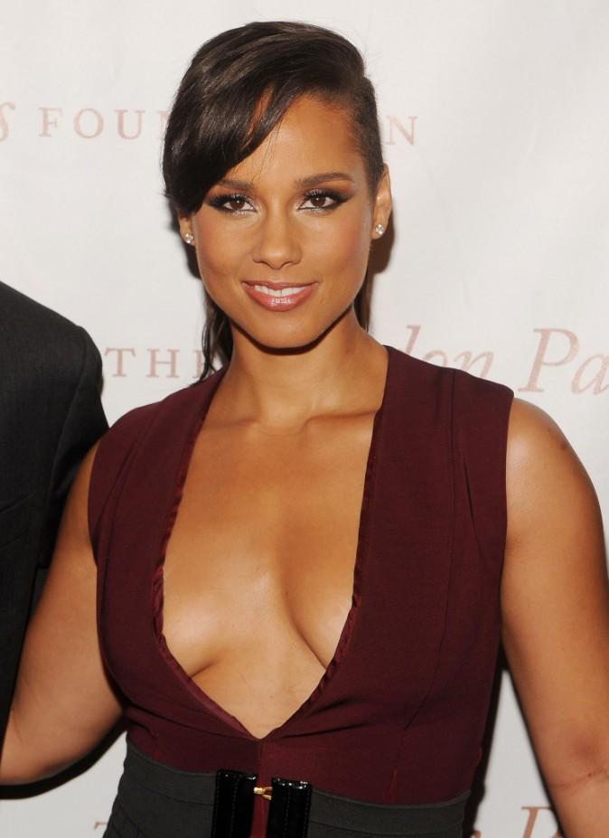 Alicia Keys à New-York le 3 juin 2014