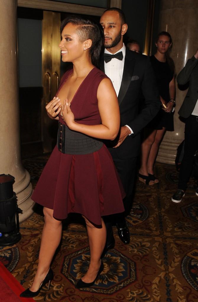 Alicia Keys et Swizz Beatz à New-York le 3 juin 2014