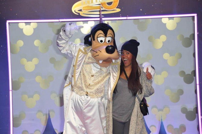 Amel Bent, Disneyland Paris, 23 mars 2013.