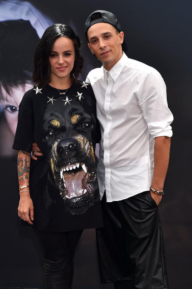 Alizée et Grégoire Lyonnet au Photocall du 55Ëme festival de télévision de Monte-Carlo, Monaco, le 14 juin 2015