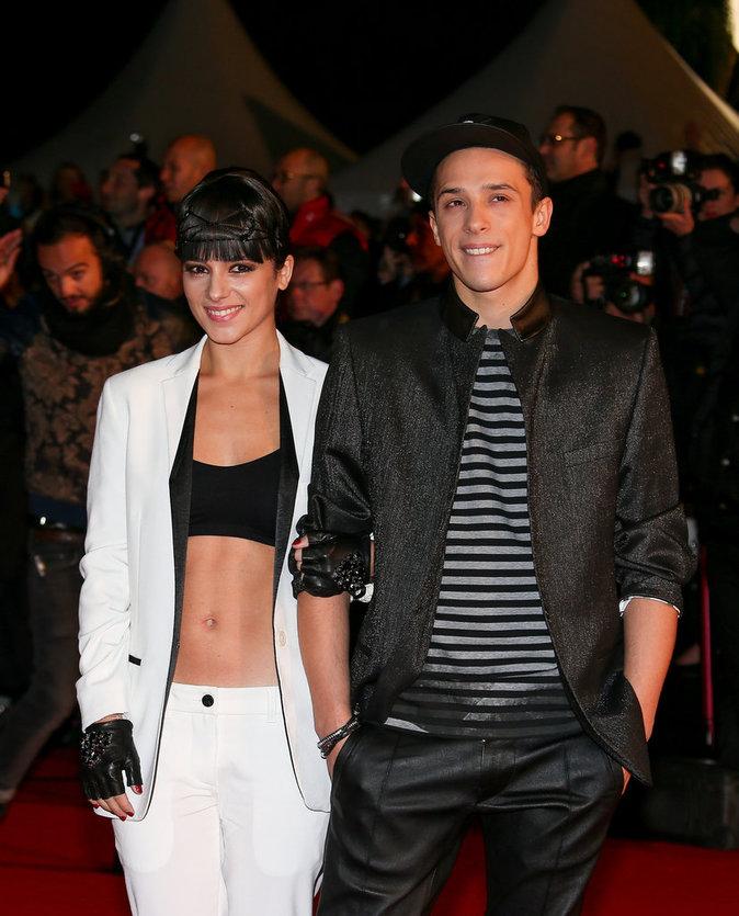 Alizée et Grégoire Lyonnet : aux NRJ Music Awards, à Cannes, le 14 décembre, 2013