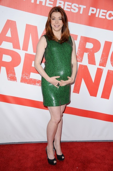 Alyson Hannigan lors de la première d'American Reunion à Los Angeles, le 12 mars 2012.