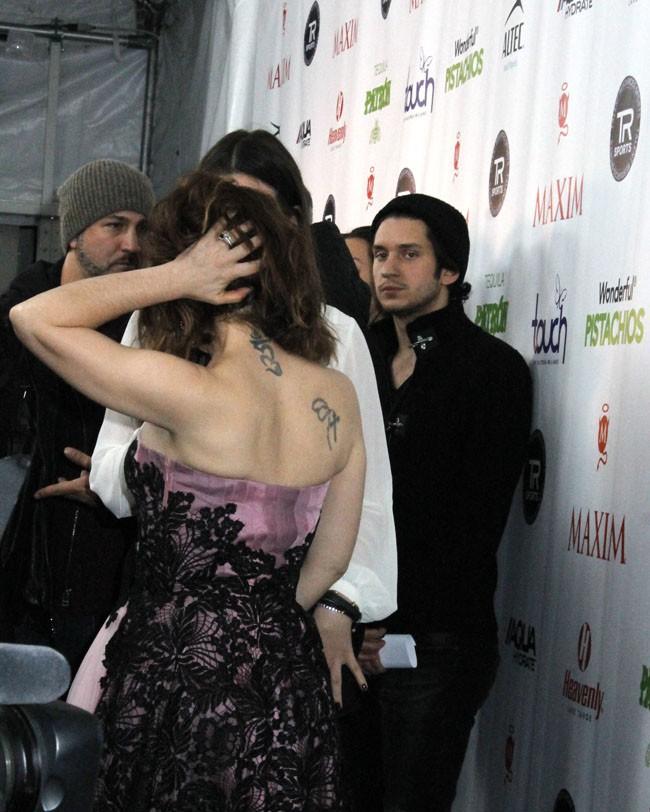 Alyssa Milano à New-York le 2 février 2014
