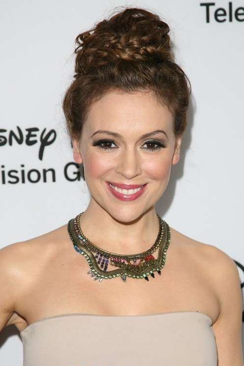 Alyssa Milano au TCA Winter Press Tour de Pasadena le 10 janvier 2013