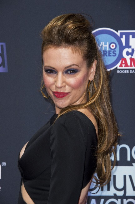 Alyssa Milano lors des Young Hollywood Awards 2013 à Los Angeles, le 1er août 2013.