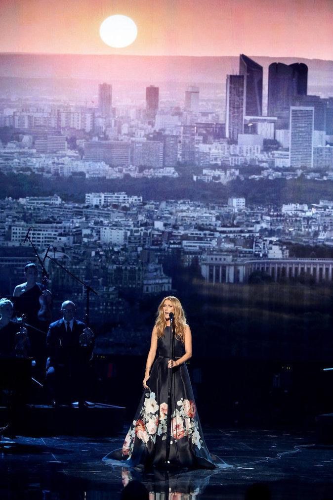 Céline Dion le 22 novembre 2015