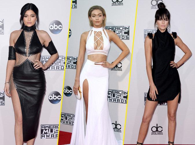 Kylie Jenner, Gigi Hadid et Kendall Jenner