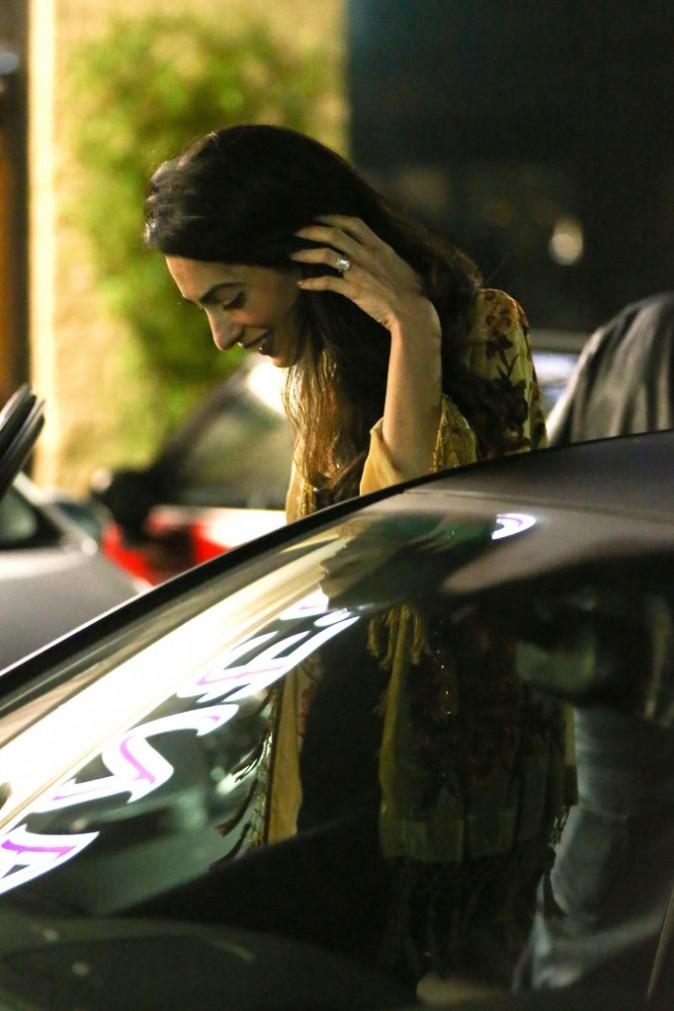 Amal Clooney le 14 décembre 2014