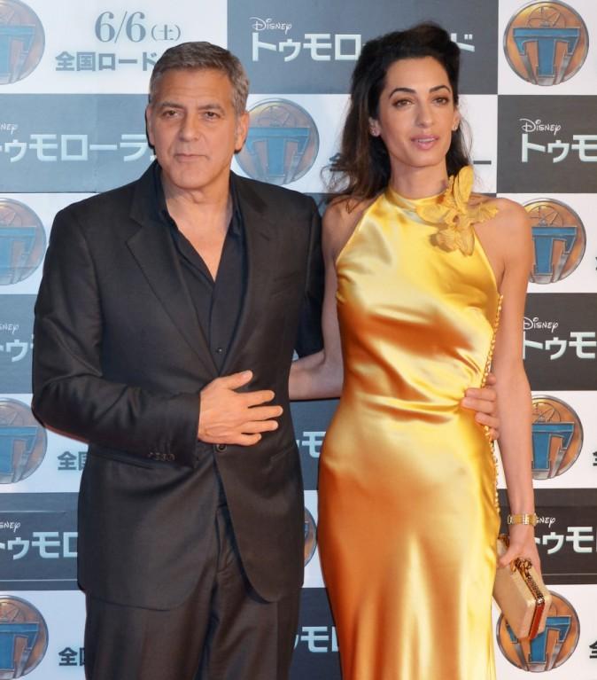 George Clooney et Amal Clooney le 25 mai 2015