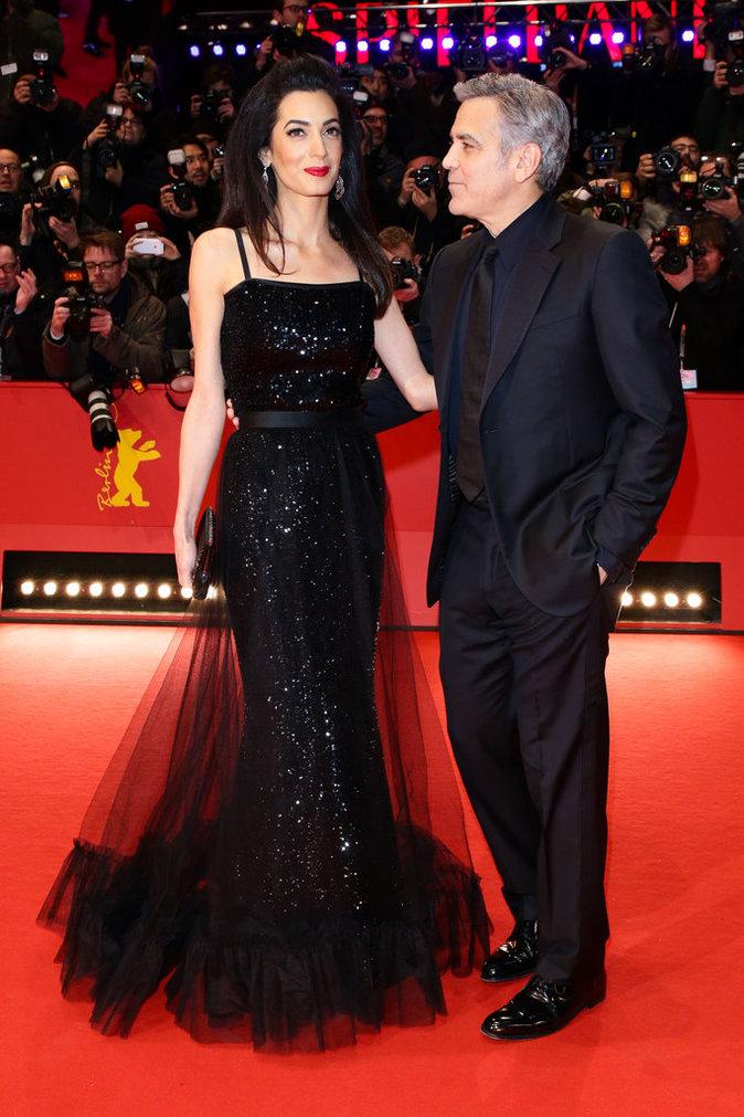 Photos : Amal Clooney vole la vedette à son mari, au Festival de Berlin !