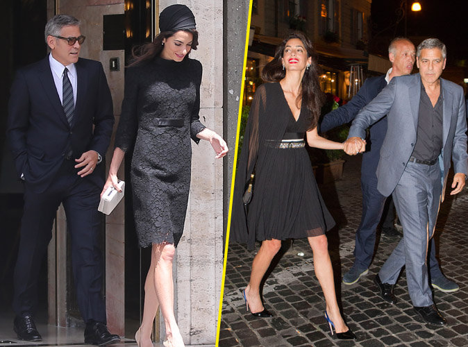 Photos : Amal et George Clooney : Leur week-end mouvementé en Italie !