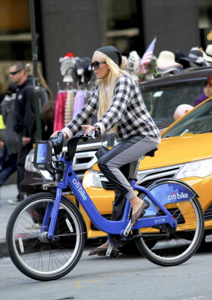 Amanda Bynes à New York le 5 octobre 2014