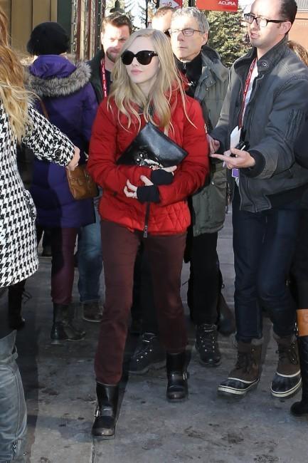Amanda Seyfried le 22 janvier 2013 à Sundance