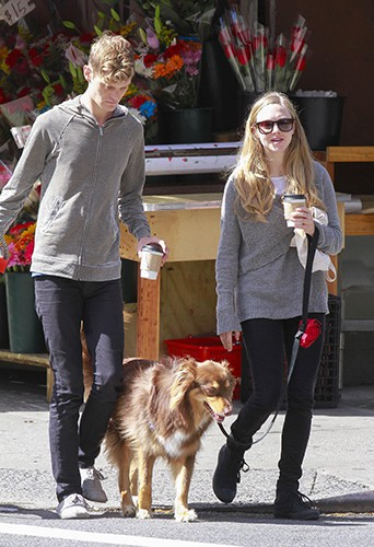 Amanda Seyfried à New-York le 14 septembre 2013