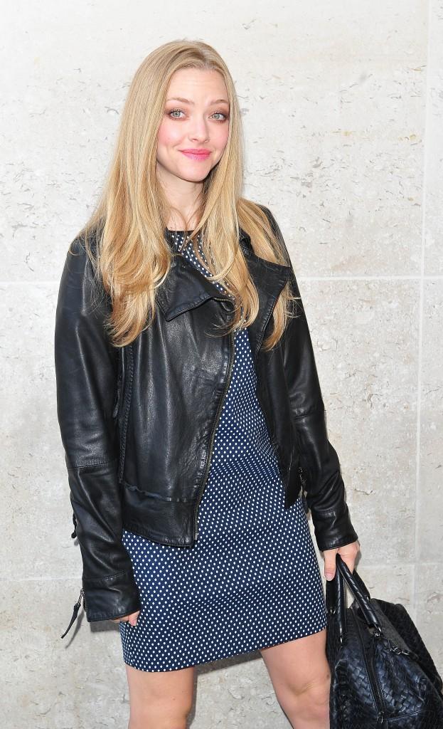 Amanda Seyfried en promo à Londres, le 14 août 2013.