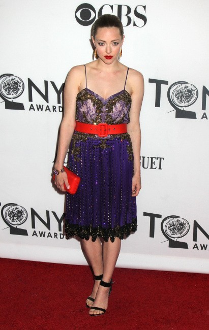 Amanda Seyfried lors des Tony Awards à New York, le 10 juin 2012.