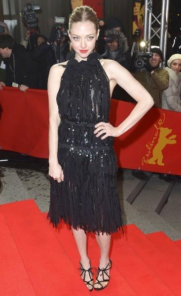 Amanda Seyfried lors de la première du film Les Misérables à Berlin, le 9 février 2013.