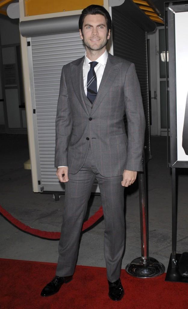 Wes Bentley lors de la première du film Gone à Hollywood, le 21 février 2012.