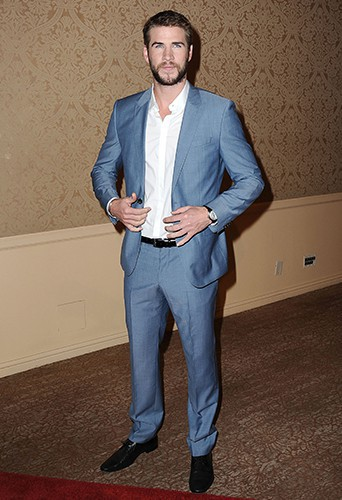 Liam Hemsworth à Beverly Hills le 13 août 2013