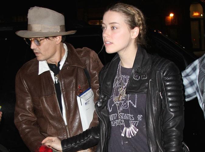 Amber Heard : chouchoutée par Johnny Depp pour son 28e anniversaire !