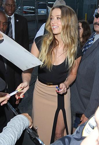 Amber Heard à Los Angeles le 7 août 2013